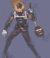 Inferno Cop by blockmongler