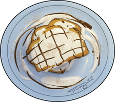 GRILLED CHEESECAKE + LOVEGRAVY by In-Tays-Head