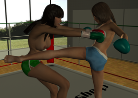 Random KO: Maria vs Catalina 002 by chuy9502