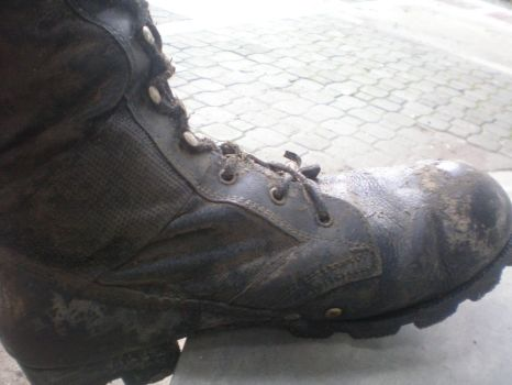 My Dirty Combat Boot by IanUzumaki