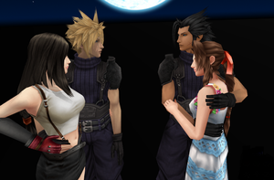 Cloud+Tifa or Zack+Aeris? by nasiamarie88