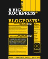A Big Rockpress - Wordpress by Nodtveidt
