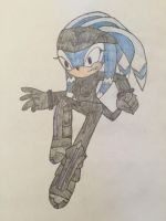 Nocturnus Clan: Selia the Echidna by changeling45