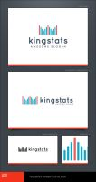 King Stats Logo Template by LogoSpot