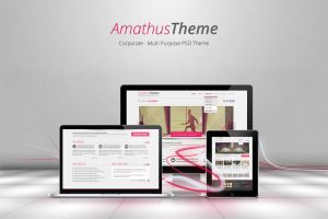 December PSD Theme by alwinred