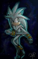 Silver The Hedgehog by b1uewhirlwind