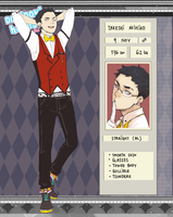 Fujoshi Cafe: Takeshi Akihiko by hollabikki