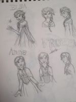Frozen Sketches by ALS123