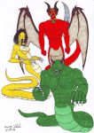 Necross, Synn & Havok by Branded-Curse by Lecter-the-Werewolf