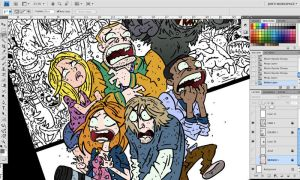 Cabin in the Woods Colors Preview by JonDavidGuerra