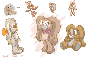 Fluffy's Revenge Bunny character designs #1 by Tommassey250