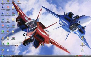 Robotech wallpaper by willywong