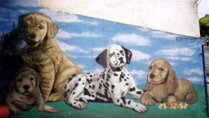 graphite paint (dogs too poorly designed) by christiano2211