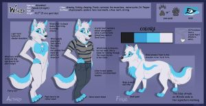Wind Anthro and Feral Character Sheet by WindWo1f