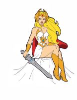 she ra princess of power by artattackrat