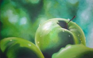 Green Apple by lapizypincel