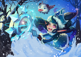 winter wonder lulu by raspbearyart