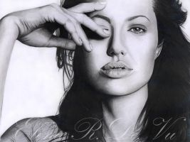 Angelina Jolie by ElenaR