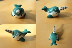 The Narwhal Beckons (body shot) by lonelysouthpaw