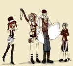 Final Fantasy XIII Steampunk by camibee
