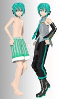 NEW DT mikuo full body by Akisuky-san