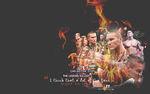 RKO in flames wallpaper by Fustro