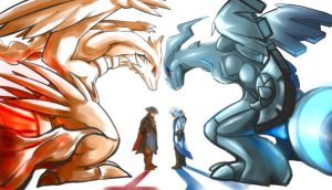 (AC3/pkmn x0ver) Truth Vs Ideals by blacktenshi22