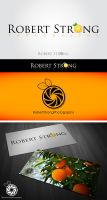 Robert Strong photography logo... by 187designz