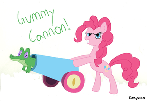 Pinkie's Gummy Cannon by Graycon