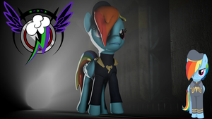 Rainbow Dash Prime Minister of Awesome by Longsword97