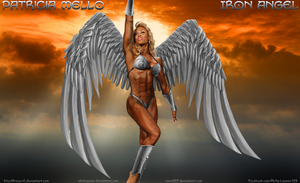 Patricia Mello IS Iron Angel by shukugumo by zenx007