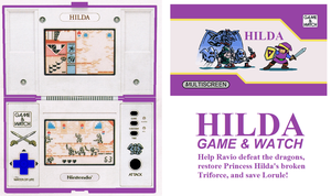 Hilda Game and Watch Concept by TheRockinStallion