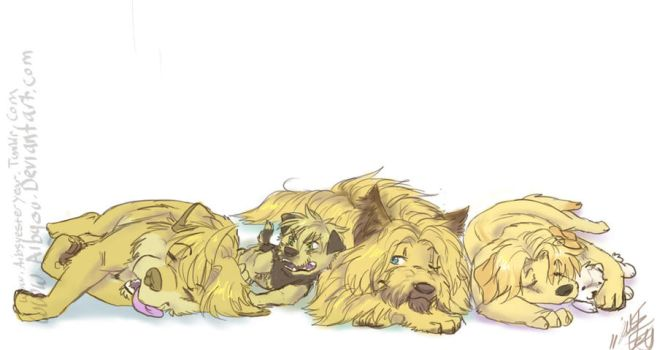 APH: Dog Days by Aibyou