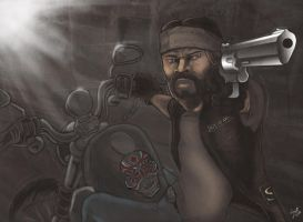 Outlaw Biker by Grant-Leon-Smith