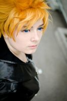 Roxas - Dreaming away. by Millahwood