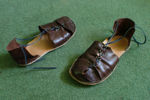 Leather sandals by Marcusstratus