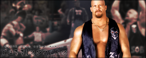 Wrestling Favorites: Steve Austin by KamenRiderReaper