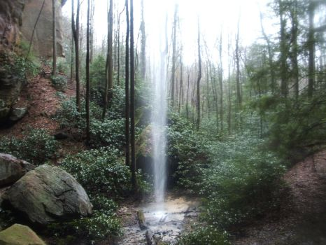 Red River Gorge Falls by cory814