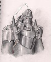 Alphonse Elric by Halle4