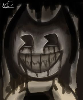Bendy At The Ink Machine by FireBrandWolf777