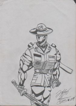 drill sgt 2 by bluejay02