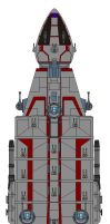 Imperious class Warship by kavinveldar