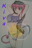 Sexy Kiva .:Colored:. by SailorSun18