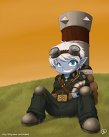 League Of Legends - Tristana by Nestkeeper