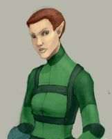 Captain H. Short - Color Sketch by Atsumi-Girl