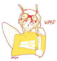 i am a wasp by alpacasovereign