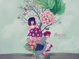 Davichi in Wonderland by RoOZze