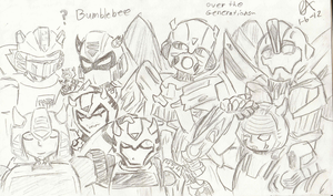 Bumblebee - Over the Generations by botoluvr