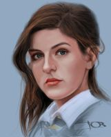 Aisling Loftus Sketch by tonyob