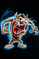 taz neon by AlanSchell